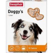 Beaphar Doggy's + Liver Кормовая добавка для собак со вкусом печени (75 табл.)