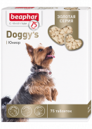 Beaphar Doggy's junior Золотая серия Кормовая добавка для щенков (75 табл)