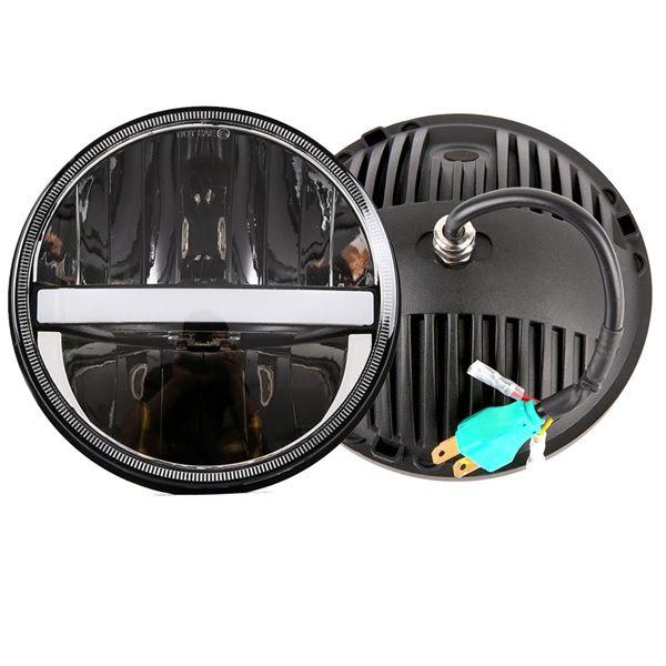 "Рефлекторные фары 7"" дюймов Main-55W Black"