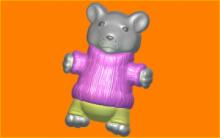 Форма для мыла и шоколада  Мышонок в свитере