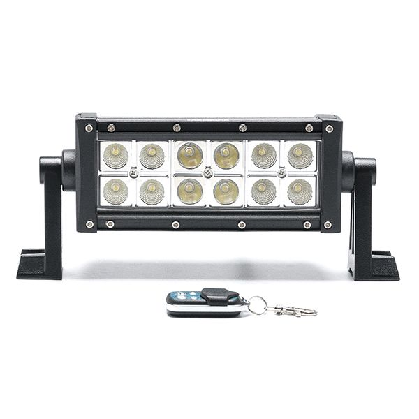 Двухрядная Балка желтая/белая DBWE-36 Вт Combo комбинированный свет (длина 20 см, 8 дюймов)
