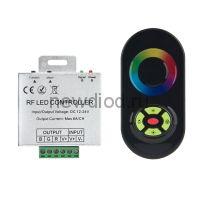 RGB контроллер сенсорный 5кл. 5203B Черный 12/24V 18A Oreol