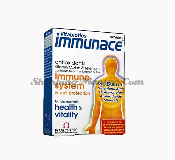 Иммунейс антиоксидантный комплекс Мейэр Органикс | Meyer Organics Immunace Tablets