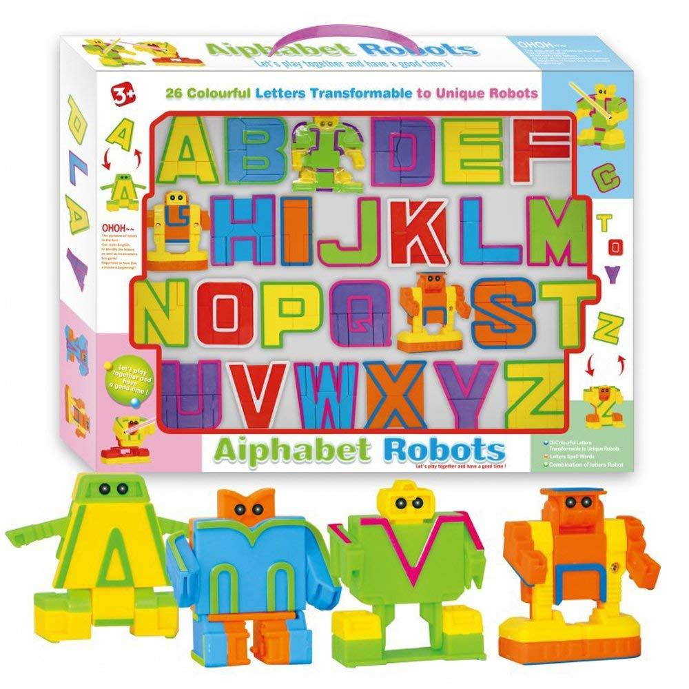 Буквы-трансформеры Alphabet Robots