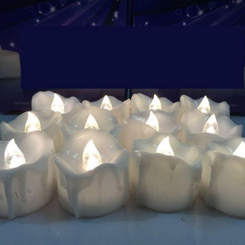 Светодиодный фонарик в форме свечи, цвет белый