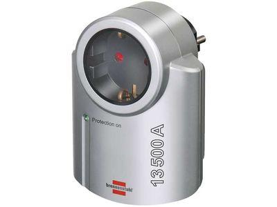 Сетевой фильтр адаптер Brennenstuhl Primera-Line 13 500 А, серый (1506950)