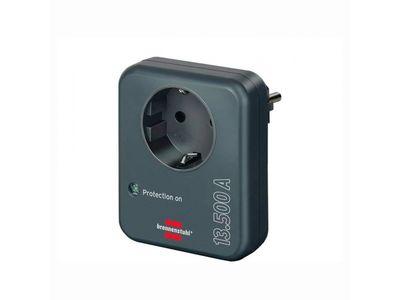 Сетевой фильтр адаптер Brennenstuhl Primera-Line 13 500 А, черный (1506976)