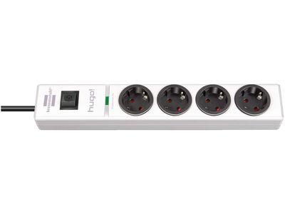 Сетевой фильтр Brennenstuhl hugo! 19500 А; 4 розетки; 2 метра; белый; кабель H05VV-F3G1,5 (1150610324)