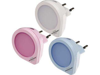 Ночники 3 шт. светодиодные Brennenstuhl LED NL 01 QD Set, 1,5 лм (1173180)