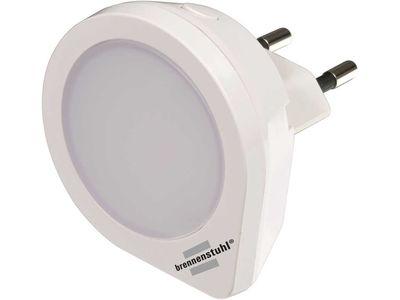 Ночник светодиодный Brennenstuhl NL 01 QS с выключателем 1 светодиод 1.5лм, белый (1173190)