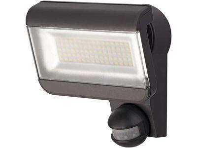 Прожектор светодиодный настенный с датчиком движения Brennenstuhl Premium City SH 8005; 40 Вт; IP44; черный (1179290311)