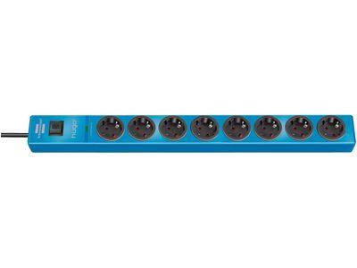 Сетевой фильтр Brennenstuhl hugo! 19500 А; 8 розеток; 2 метра; голубой; кабель H05VV-F 3G1,5 (1150610388)