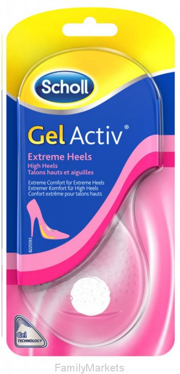 Гелевые стельки GelActiv Extreme Heels для обуви на высоком каблуке