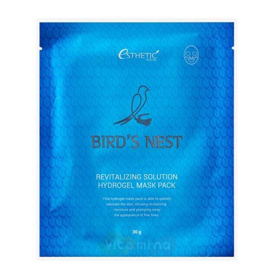 Esthetic House Гидрогелевая маска с экстрактом ласточкиного гнезда Bird's Nest Revitalizing Hydrogel Mask Pack