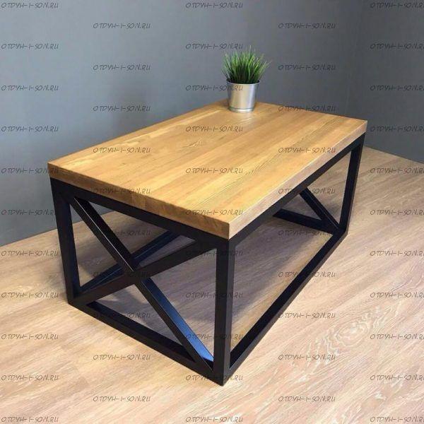 Стол журнальный Loft №1 (90х55х50)