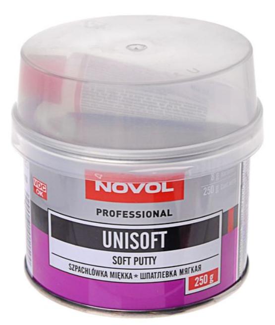 Шпаклевка мягкая NOVOL UNISOFT (0.25 кг) 1150