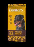 Banters Adult Large Корм для собак крупных пород с курицей и рисом к 15 кг