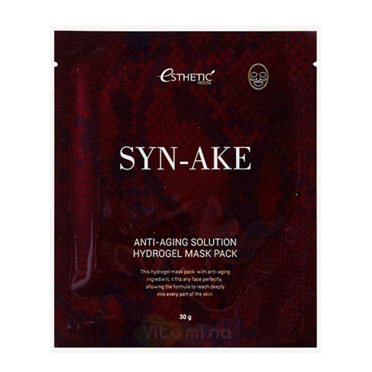 Esthetic House Гидрогелевая маска со змеиным ядом Syn-Ake Anti-Aging Solution Hydrogel Mask Pack