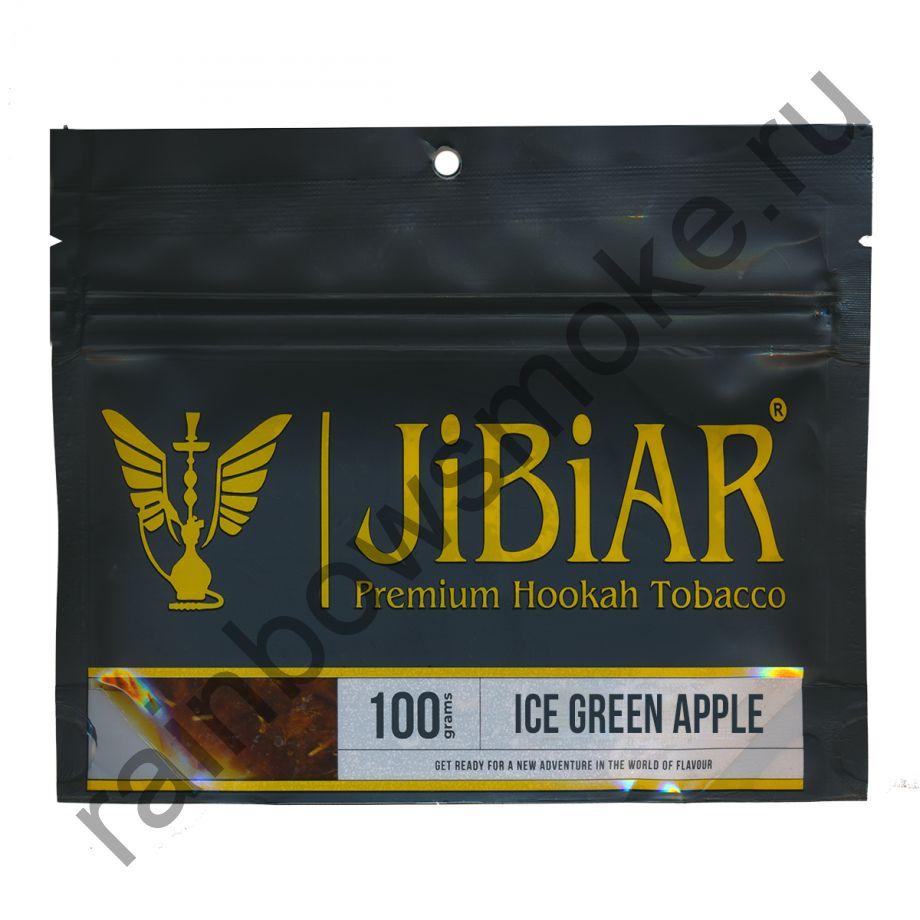 Jibiar 100 гр - Ice Green Apple (Ледяное Зеленое Яблоко)