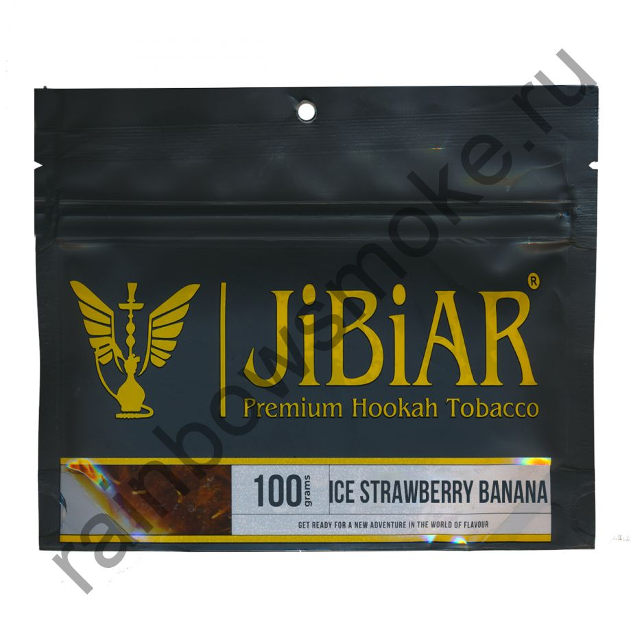 Jibiar 100 гр - Ice Strawberry Banana (Ледяная Клубника Банан)