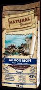Natural Greatness Salmon Recipe Sensitive Монопротеиновый корм на основе свежего мяса лосося для собак с чувствительным пищеварением (12кг)