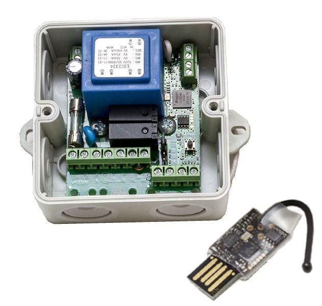 Блок управления Radio 8615 IP65 с USB-stick