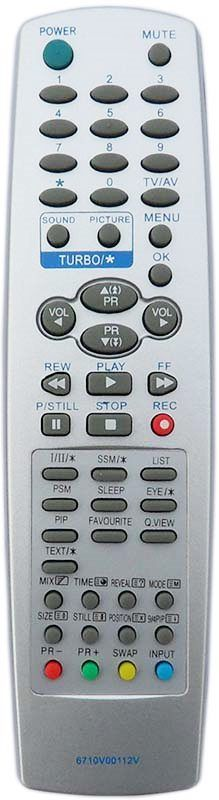 LG 6710V00112V с кнопкой favourite, PIP