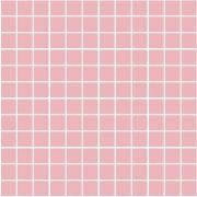 Темари Плитка настенная розовый матовый (мозаика) 20060  29,8х29,8