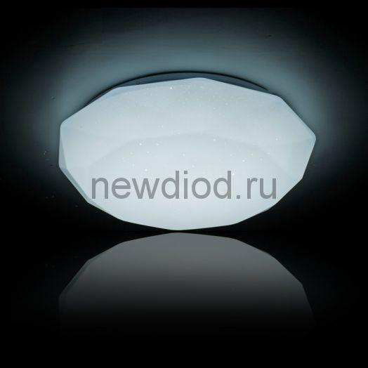 Управляемый светодиодный светильник Almaz 629 60Вт-4800Лм 550мм 6/3/4000K Oreol