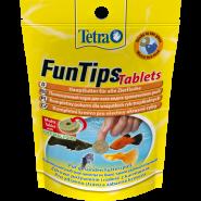 TETRA Fun Tips Tablets корм лакомство для тропических рыб (75таб)