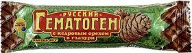 Гематоген Русский с орехом в шоколадной глазури 40г