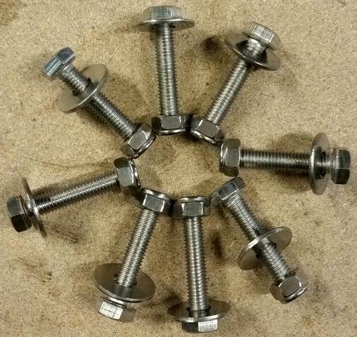 Крепеж для транцевых колес, комплект