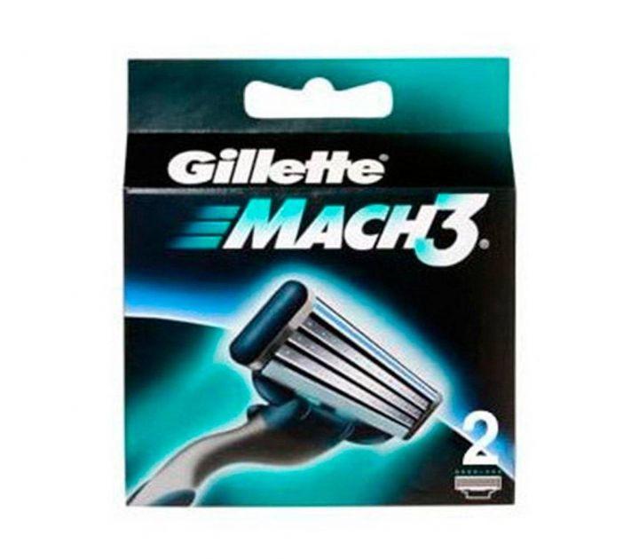 Кассеты д/бритья Gillette MACH3 Start 2шт