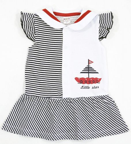 Боди-платье для новорожденных Bonito с корабликом