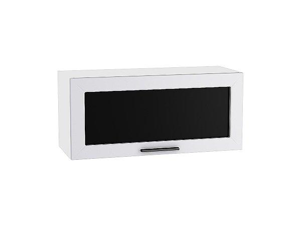 Шкаф верхний Глетчер ВГ800 со стеклом (Гейнсборо Силк)