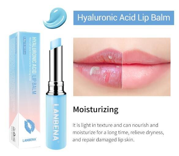 Бальзам для губ с гиалуроновой кислотой LANBENA