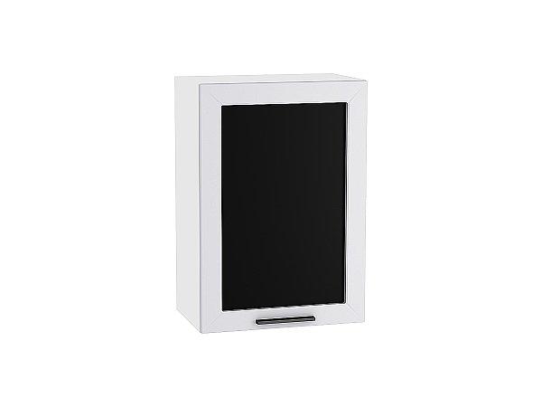 Шкаф верхний Глетчер В509 со стеклом (Гейнсборо Силк)