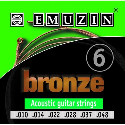 EMUZIN 6А153 (10-47) Струны для акустической гитары
