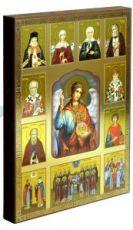 Икона Архистратиг Михаил и святые