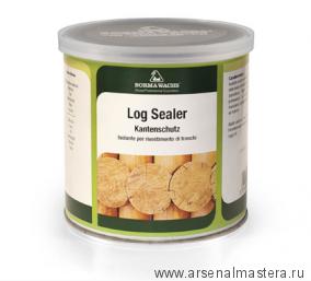 Грунт для запечатывания торцов Kantenschutz - Log Sealer Borma 750 мл 0310