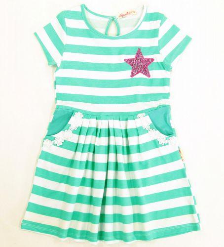 Платье на девочек 2-5 лет Bonito со звездой