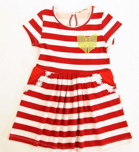 Платье на девочек 2-5 лет Bonito с бантом