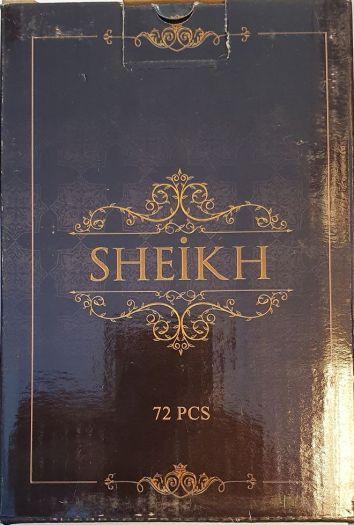 Уголь Sheikh 72 шт.