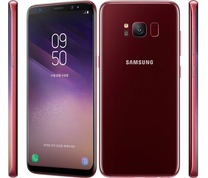 Samsung Galaxy S8 64Gb Королевский рубин (SM-G950FZRDSER)