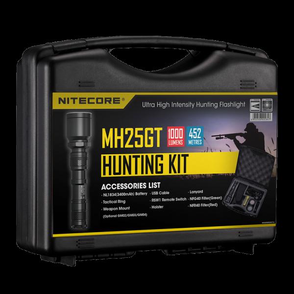 Набор для ночной охоты Nitecore MH25GT