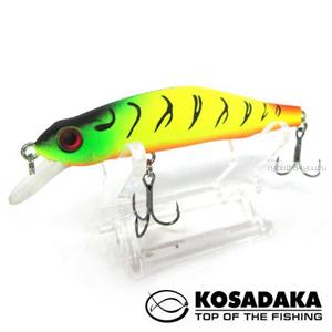 Воблер Kosadaka Mascot XS 80F 80 мм / 8,5 гр / Заглубление: 0,2 - 1,2 м / цвет: TT