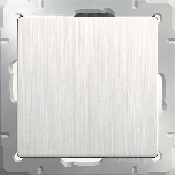 Декоративная заглушка белая / WL13-70-11 перламутровый рифленный