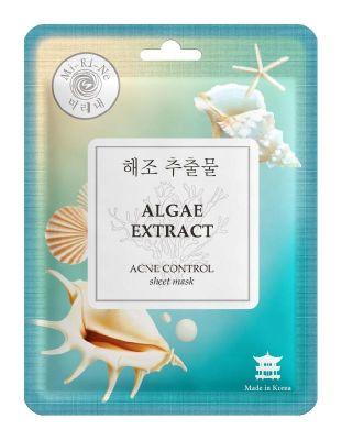 Mi-Ri-Ne Algare Extract Тканевая маска для лица Очищающая с экстрактом красных водорослей 23г