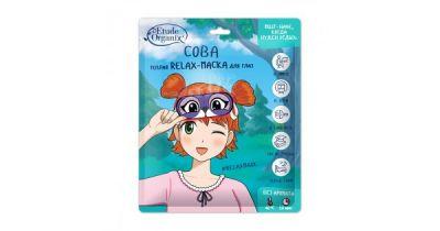 Теплая Relax-маска для глаз СОВА Etude Organix