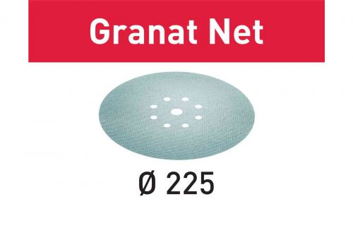 Шлифовальный материал на сетчатой основе STF D225 P240 GR NET/25 Granat Net